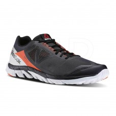 Reebok Mens Running Shoes Zstrike Run Black Red Grey White