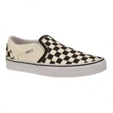 Vans Asher Slip-On Check Men's Skate Shoes