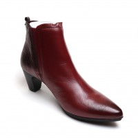 Fugitive FOLIN NAPPA ROUGE Galicia BORDO Pointed ankle boot
