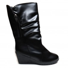 Women Faux Leather Boots