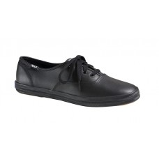 Keds Women's Champion Leather Shoes in Black
