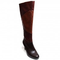 Naturalizer Women Knee High Dress Boot Analise Brown Banana