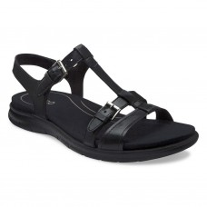 Ecco Women Sandals Babett Color Black Feather