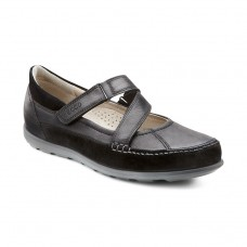 Ecco Cayla Ladies Touch Fastening Mary Jane Casual Shoe